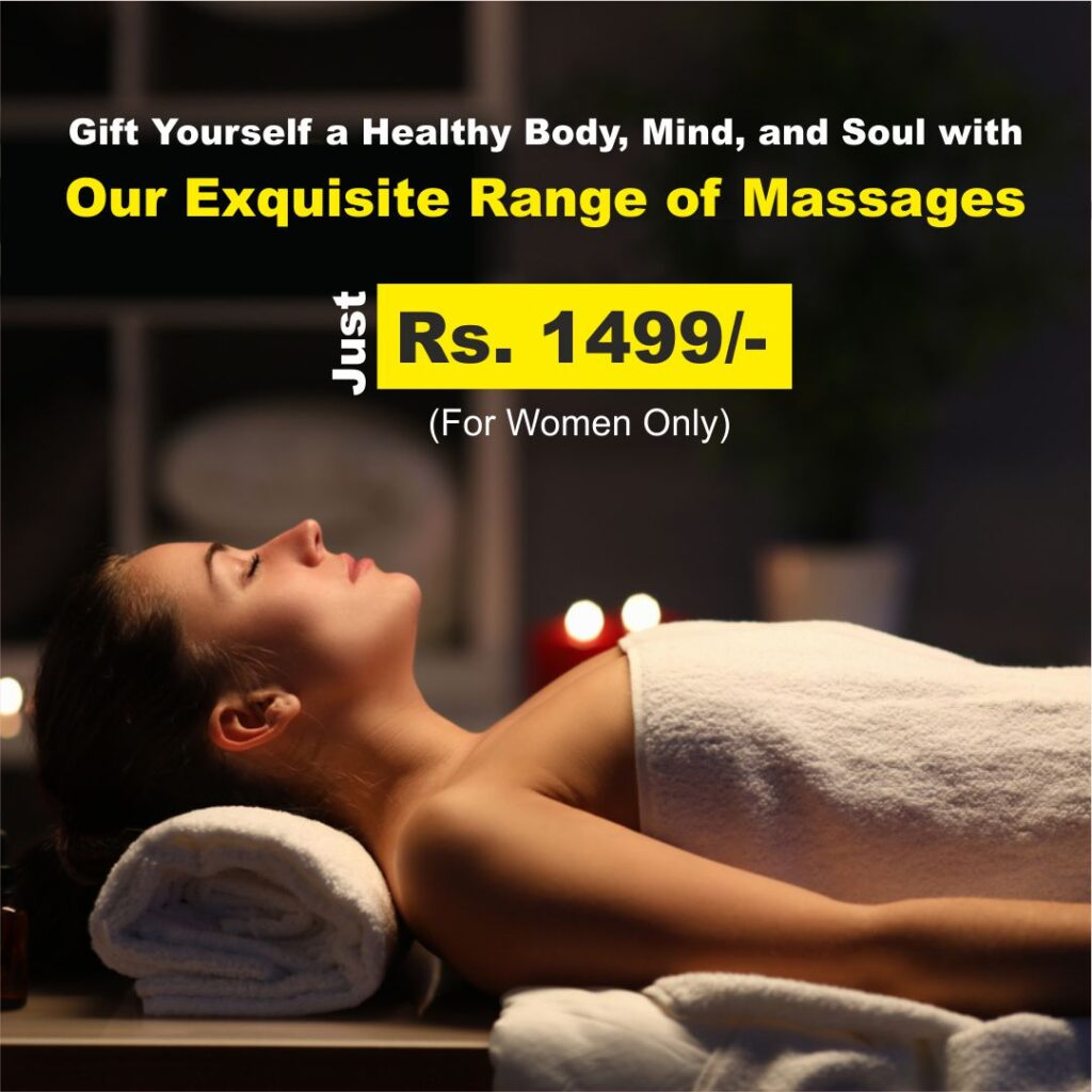 Exquisite range of Massage