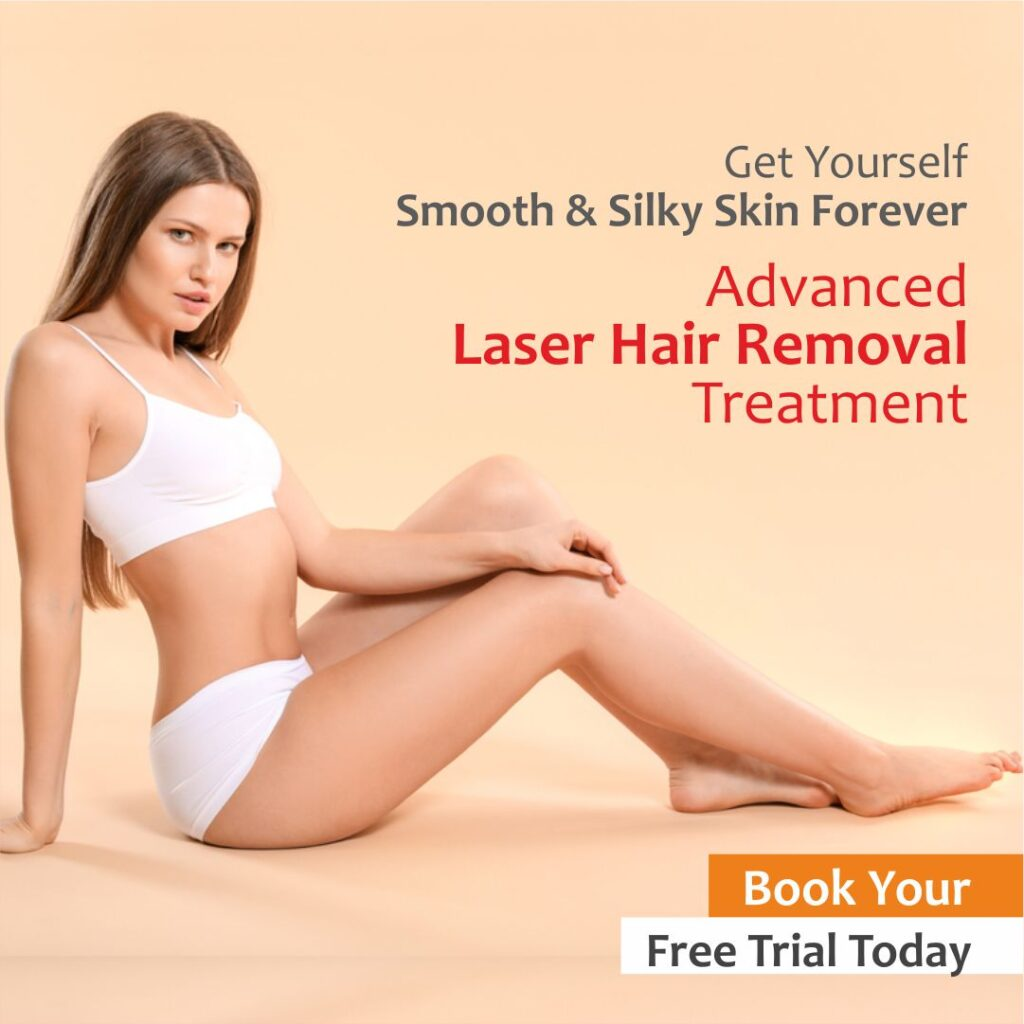 Advanced laser Hair Removal Treatment